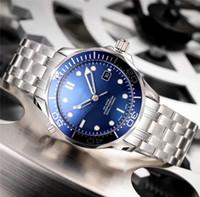 ingrosso sub mensile automatico-Ceragold Technology crea orologi da uomo Orologio da sub in ceramica con quadrante di lusso Orologio di lusso da 42 mm Meccanico automatico Designer Orologi da polso blu nero