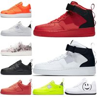 rosa basketballschuhe high cut groihandel-Dunk High Utility-Universität Red Low Cut Trainer Männer Blumen Dienstprogramm schwarz Weiß Volt Grün Basketball-Schuhe der Frauen PINK NIK 1s 3A Qualität