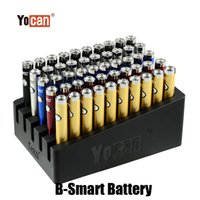 Wholesale vape pen for herb oil for sale - Group buy 100 Original Yocan B Smart Battery mah Preheat Function Adjustable Voltage Vape Pen For Thread Oil Wax Herb Vaporizer Tank Genuine