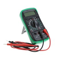 Wholesale ohms multimeter resale online - Fcarobd Portable Digital Multimeter Backlight AC DC Ammeter Voltmeter Ohm Tester Meter XL830L Handheld LCD Multimetro