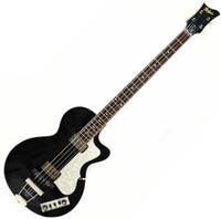 échelles de guitare électrique achat en gros de-Personnalisé 4 cordes des années 1960 Hofner contemporain HCT 500/2 violon club basse guitare électrique noire, longueur de 30