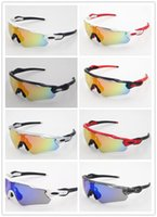 Wholesale yellow cycling glasses resale online - Top quality Radar EV Pitch sunglasses Polarized glasses bike sun glass mens sports glasses riding glasses TR90 frame outdoor Cycling Eyewear