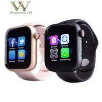 новейшая интеллектуальная камера для часов оптовых-Новейшие смарт-часы Z6 для Apple Iphone Девушки Smart Watch Bluetooth 3.0 Часы с камерой Поддерживает SIM-карту TF для смартфона Android