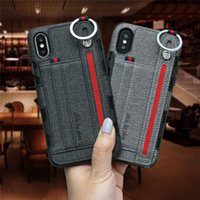 Wholesale wrist wallet case for sale - Group buy Wrist Strap Band Leather Case For Motorola G6 E5 Play E4 Plus G7 Power LG G6 K10 PRO Wallet Card Slot Ring Holder Back Cover case Pouch