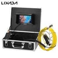 industrielle rohr inspektion kamera großhandel-Lixada 20 / 30M Kanalinspektionskamera IP68 Wasserdichtes industrielles Endoskop-Inspektionssystem