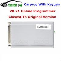 ремонт инструмента ecu оптовых-Carprog V8.21 Основной блок с Keygen Auto Repair Tool Car Prog 8.21 Программирование ECU Чип-Тюнинг Полностью активированный SW