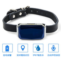 Wholesale gps collars for dogs resale online - New Arrival IP67 Waterproof Pet Collar GSM AGPS Wifi LBS Mini Light GPS Tracker for Pets Dogs Cats Cattle Sheep Tracking Locator