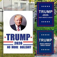 Wholesale polyester decoration for sale - Group buy Trump Garden Flags CM President General Election Banner Trump Flag Polyester Pennant Banner Flags Garden Decorations WX9
