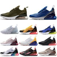 Wholesale comfortable shoes for hot summers for sale - Group buy Brand Running Shoes for men womens triple black white Medium Olive Hot Punch red Habanero sepia stone comfortable outdoor sports shoes NIK