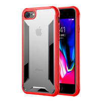 Wholesale clear transparent cell phone cover cases online – custom Hybrid Clear Rugged Armor Cover Cover Case for iPhone Plus Plus TPU PC Transparent Case Anti Shock Hard Cell Phone Case