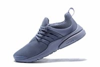 Wholesale mens european casual shoes for sale - European popularity TOP PRESTO BR QS Breathe Black Yellow Red Mens casual Shoes Women Shoe Walking designer shoes