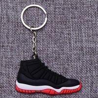 Wholesale sport shoe key chains resale online - 2020 new hot sale Key buckle key chains socks shoes sports black white fashion style good quality
