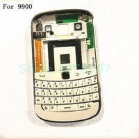 blackberry bold back al por mayor-Funda original para Blackberry bold 9900 Carcasa Batería Cubierta trasera + teclado