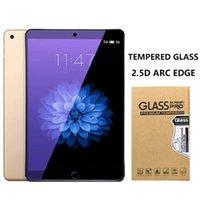 película azul hd al por mayor-Aplicable a iPad Aire Air2 pro 9,7 11 película de vidrio templado anti-azul tableta 2.5D arco borde HD película protectora anti-huella digital 12.9 pulgadas