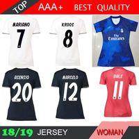 63ef4deb8 Real Madrid x EA Sports home azul Mujeres ISCO blancas Camisetas de fútbol 18  19 Fútbol femenino 2019 ASENSIO Vinicius 3ro rojo Uniformes de fútbol