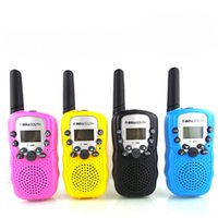 Wholesale kids display toys for sale - 2018 A Pair Retevis RT Mini Walkie Talkie Kids Radio W CH LCD Display Amateur Two way Radio Talkly Children Transceiver STY173