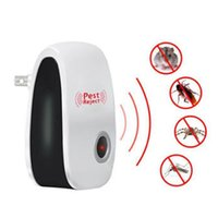 Wholesale electronic rat insect for sale - Group buy Enhanced Version Electronic Cat Ultrasonic Anti Mosquito Insect Repeller Rat Mouse Cockroach Pest Reject Repellent EU US
