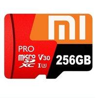 samsung tarjeta de 256 gb al por mayor-Tarjeta de memoria TF SDHHS de clase 10 UHS-1 Micro SDHC Micro SD de 256 GB MicroSDHC para teléfonos inteligentes cámaras MP4