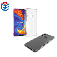 Wholesale gel cover for lenovo online - For Lenovo Z5S Mobile Accessories Clear Soft Gel TPU Back Protective Cover Case Hot Selling