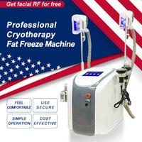satılık lazer lipo makineleri toptan satış-Satılık zayıflama makinesi Kriyoterapi Vücut RF Ultrason Liposuction Lipo Lazer Makinesi Donma Orijinal Cryolipolysis Yağ