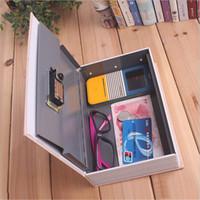 ingrosso scatole bancarie-Storage Safe Box Dizionario Book Bank Money Cash Jewellery Hidden Secret Security Locker Vendita TB