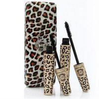 Wholesale love alpha mascara set resale online - Authentic Love alpha D Natural Fiber Mascara in1 set with retail box box dhl ship