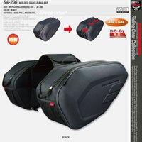 Wholesale motorcycle side saddle bags resale online - For Komine Waterproof Motorcycle Saddle Bags Off road Riding Helmet Bag Side Bag Tail Bags One Pair of Rain Cover and plastic