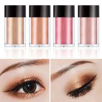 sombras de olhos minerais venda por atacado-8 Cor Ouro Vermelho Metálico Solto Glitter Eyeshadow Poweder Nova Maquiagem Pigmento Solto Sombras Eye Mineral Eyeshadow Maquiagem