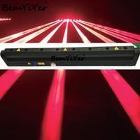 disco-laserstrahl großhandel-2ST 8x300mW Red Laserstrahl bar Moving Head Licht für Bühnenshow, Disco, Disco, DJ, party, ktv