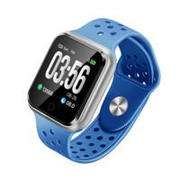 смотреть мужчин оптовых-2019 новинка высокое качество смарт-часы S226 для iphone samsung huawei ios Android телефон PK GT88 LED спортивные мужские и женские часы
