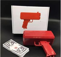 Wholesale battery toy guns for sale - Group buy With Logo v Battery High Power Cash Money Gun Toy Make It Rain Money Spit Banknotes Gun Toys For Kids Christmas Gift Party Funny Toys