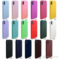 yumuşak hücrenin telefonunu toptan satış-Yeni cep telefonu kılıfı için iphone XS max XR X 6 S 7 8 artı TPU silikon yumuşak cep telefonu kılıfı İnce ultra İnce yüksek kalite ucuz kılıf kapak