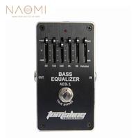 ingrosso parti del pedale-NAOMI Aroma Bass Effect Pedal AEB-1 Bass 5-bande EQ Esclusivo Per Basso Elettrico Chitarra Effetti A Pedale Chitarra Ricambi Accessori Nuovo