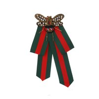 schwarze skinny krawatte männer kleid großhandel-Mode Kleine biene fliege Bowknot Festes Band Polyester Fliege Tasche Party Kleid Fransen Kristall Krawatten Frauen Fliege