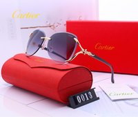 pegatina gafas de sol al por mayor-Lente de vidrio de calidad superior Polit Gafas Vintage Hombres Mujeres Gafas de sol UV400 Diseño de la marca Unisex Gafas de sol Mejor caso de etiqueta