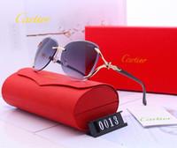 ingrosso adesivi al sole-Un obiettivo di vetro di alta qualità Polit occhiali Vintage Occhiali da sole donne uomini UV400 Marchio di design unisex Occhiali da sole Custodia migliore