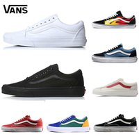 Original Vans Old Skool Men Women sports shoes Running Shoes Yacht Club  white black Sneaker Trainer Sports Jogging Skate Shoes eur 36-44 a48f6c0d5