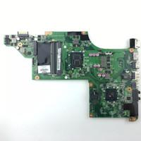 dv6 intel al por mayor-637212-001 placa para HP pavilion DV6 DV6T DV6-3000 placa base con Intel cpu I3-370M hm55 chipset