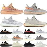 8a5b074e34e17 350 V2 Clay True Form Designer Sneakers With Box Static Zebra Beluga 2.0  Blue Tint Cream White Mens Womens Running Shoes 36-48