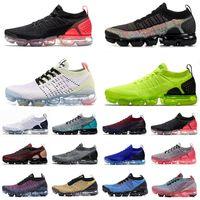 sapatas quentes da forma venda por atacado-2019 Fly 2.0 3.0 Mens Running Shoes Moda malha Hot Punch Volt Iridescente Preto Osso branco 3s Mulher Sapatos de desporto Almofadas Tênis de grife