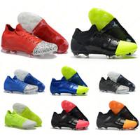 tacos de fútbol mercurial al por mayor-Zapatos de fútbol para hombre Mercurial Greenspeed GS 360 FG botines de fútbol Superfly Crampones de fútbol botas chuteira 39-45