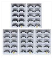 Wholesale plastic stems for sale - Group buy Hot D Mink Eyelashes Eye makeup Mink False lashes Soft Natural Thick Fake Eyelashes D Eye Lashes Extension Beauty Tools