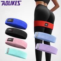 equipamento de treino de fitness venda por atacado-Resistência das Mulheres Yoga Resistência Lastic Goma de Equipamentos de Fitness Exercício Banda Treino Corda Pull Stretch Cross Training