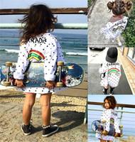 Wholesale boys new fashion jacket for sale - Group buy New Fashion Kids Baby Girl Boy Rainbow Dot Outwear Coat Jacket Overcoat Long Sleeve Casual Autumn