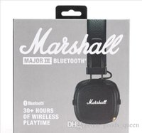 Wholesale good kit motorcycles resale online - New Marshall Bluetooth Car Kit Motorcycles Car Wireless Bluetooth Headset Stereo Good Sound Wireless Bluetooth Earphone