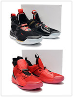 Wholesale chinese new year goods online - 2019 Chinese New Year University Red Black Sail White Men Basketball Shoes good quality s Designer Outdoor Mens Sports Sneaker