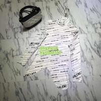 ingrosso vestito nero dalla camicetta lunga del manicotto-Camicetta delle camicette della camicia della lettera della manica della lettera della manica della camicia della manica lunga irregolare della camicia delle camicette del collare del supporto della camicia bianca e nera delle donne