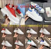 Wholesale white yellow men dress shoes resale online - Top quality fashion Platform Designer Shoe Triple Black Velvet White Oversized Men Women Casual Sneaker Party Full Dress Calfskin Leather