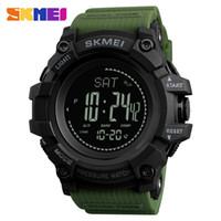 reloj sport hombre оптовых-SKMEI Compass Men Sport Watch Steps Man Calorie Altimeter Barometer Digital Watch Thermometer Weather For Men reloj hombre