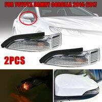 spiegel indikatoren groihandel-1 Paar Seitenspiegel Blinkeranzeige für Camry Corolla 2014-2018